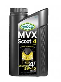 MVX SCOOT 4 SYNTH 5W40
